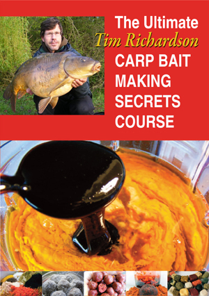 The Ultimate Tim Richardson Carp Bait Making Secrets Course