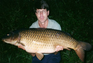 43lb common carp on salts in homemade boilie baits